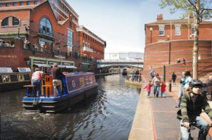 Boating in Birmingham