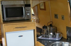 240V plug socket on-board a Narrowboat