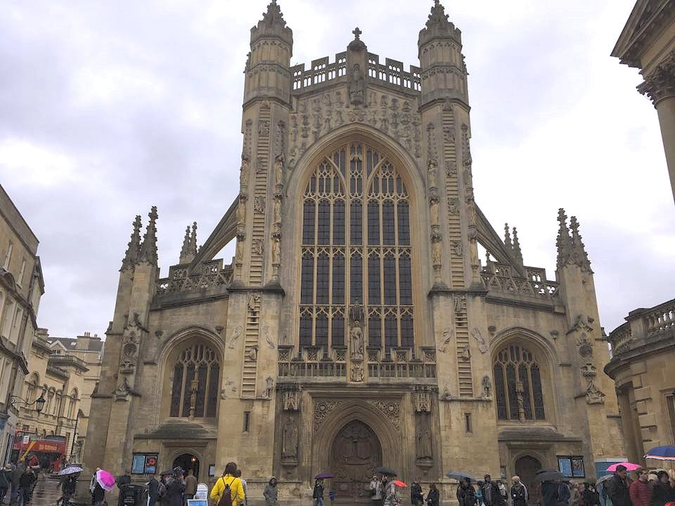 Bath Abbey at Easter