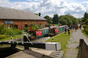 Narrowboats from Braunston