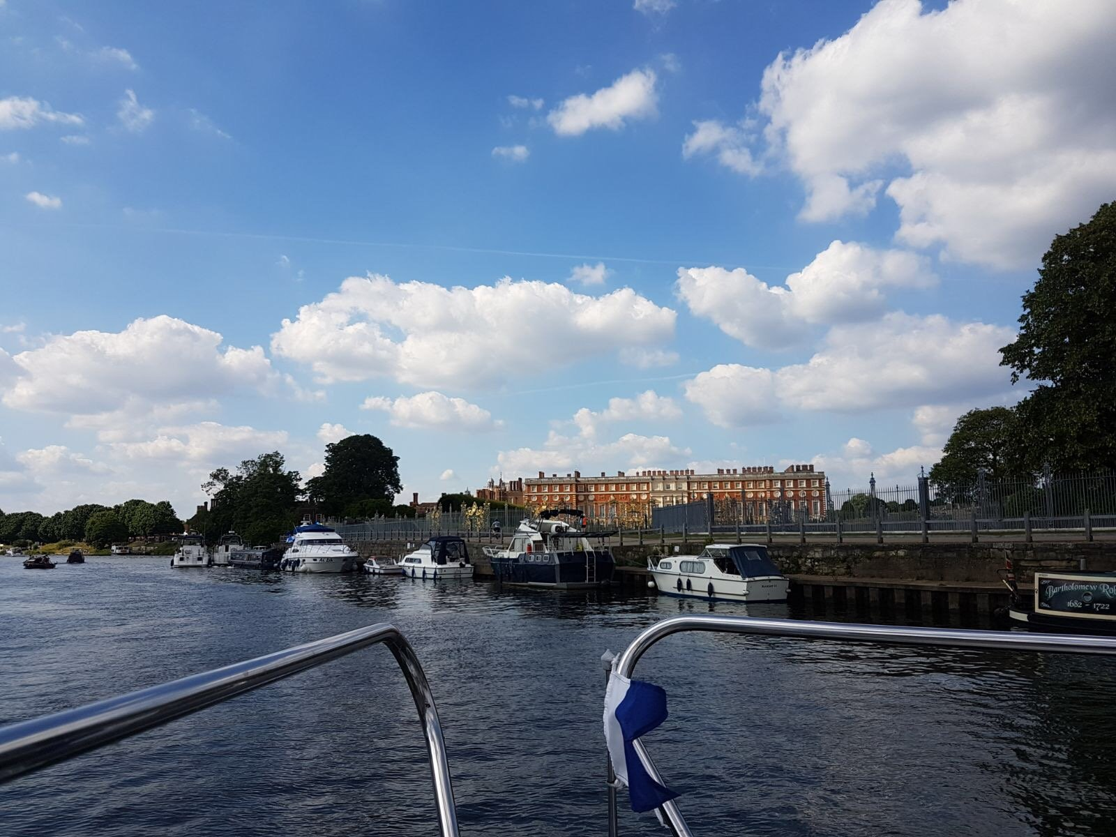 Visit Hampton Court Palace by boat
