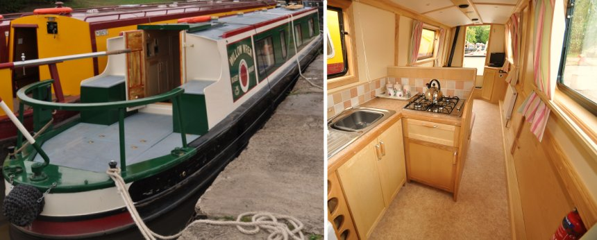Brand New Narrowboat 'Heron'