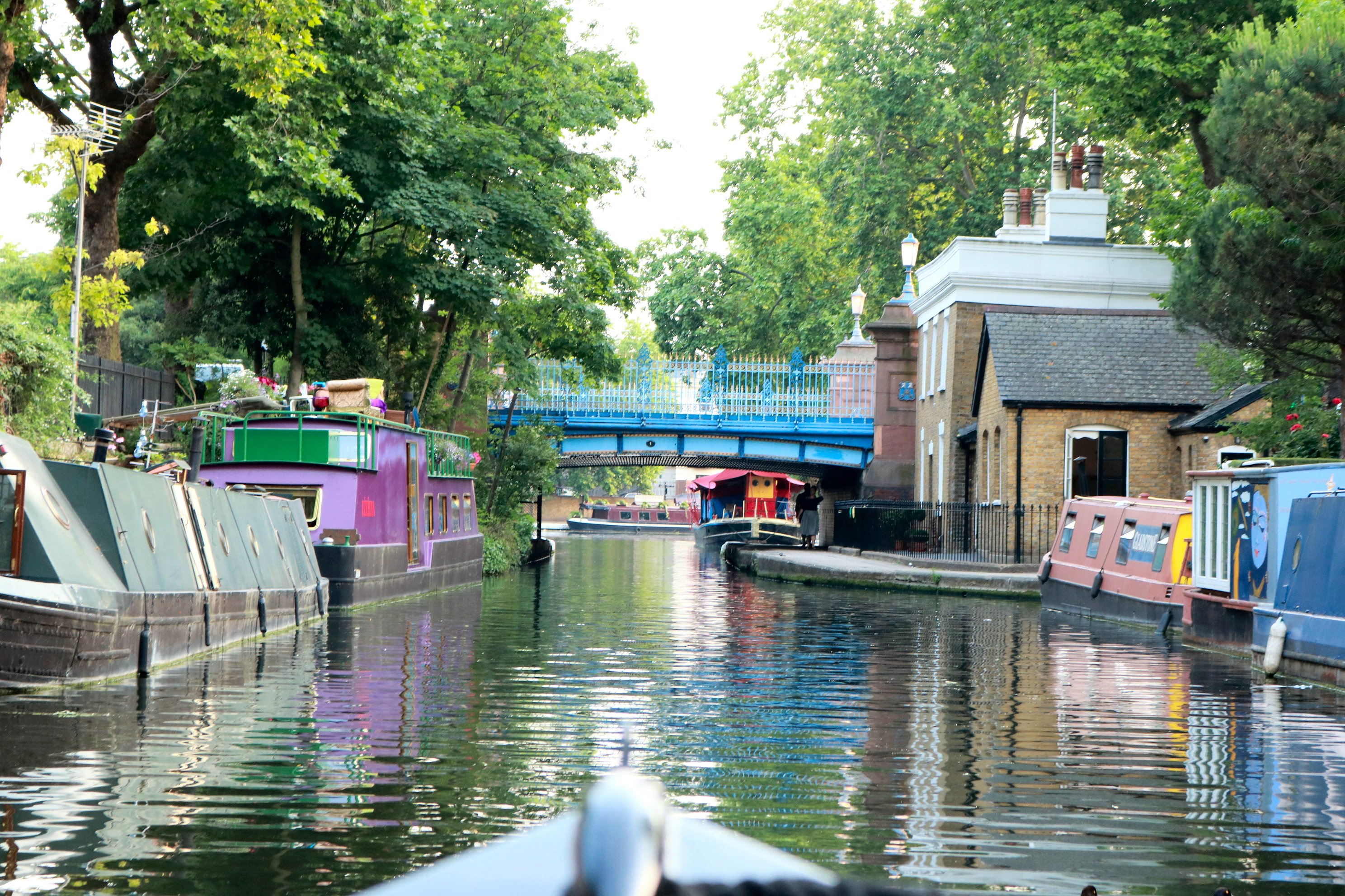 On the approach to Little Venice