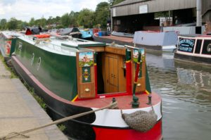 A Traditional Stern Narrowboat