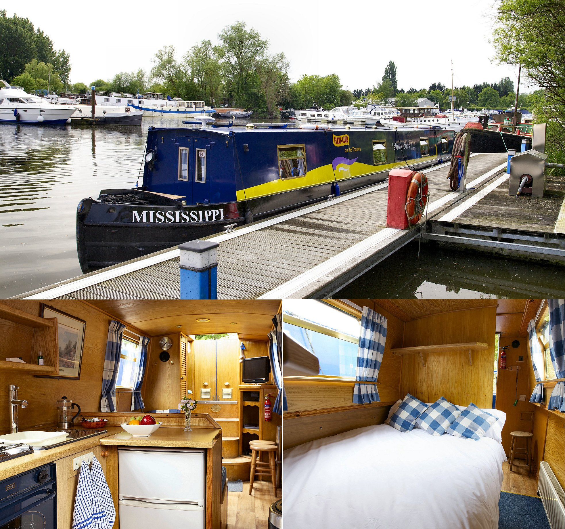 Hire Boat 'Mississippi'