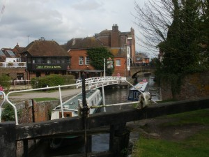 View from Newbury Lock