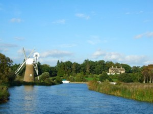 Norfolk Broads Sights by Water