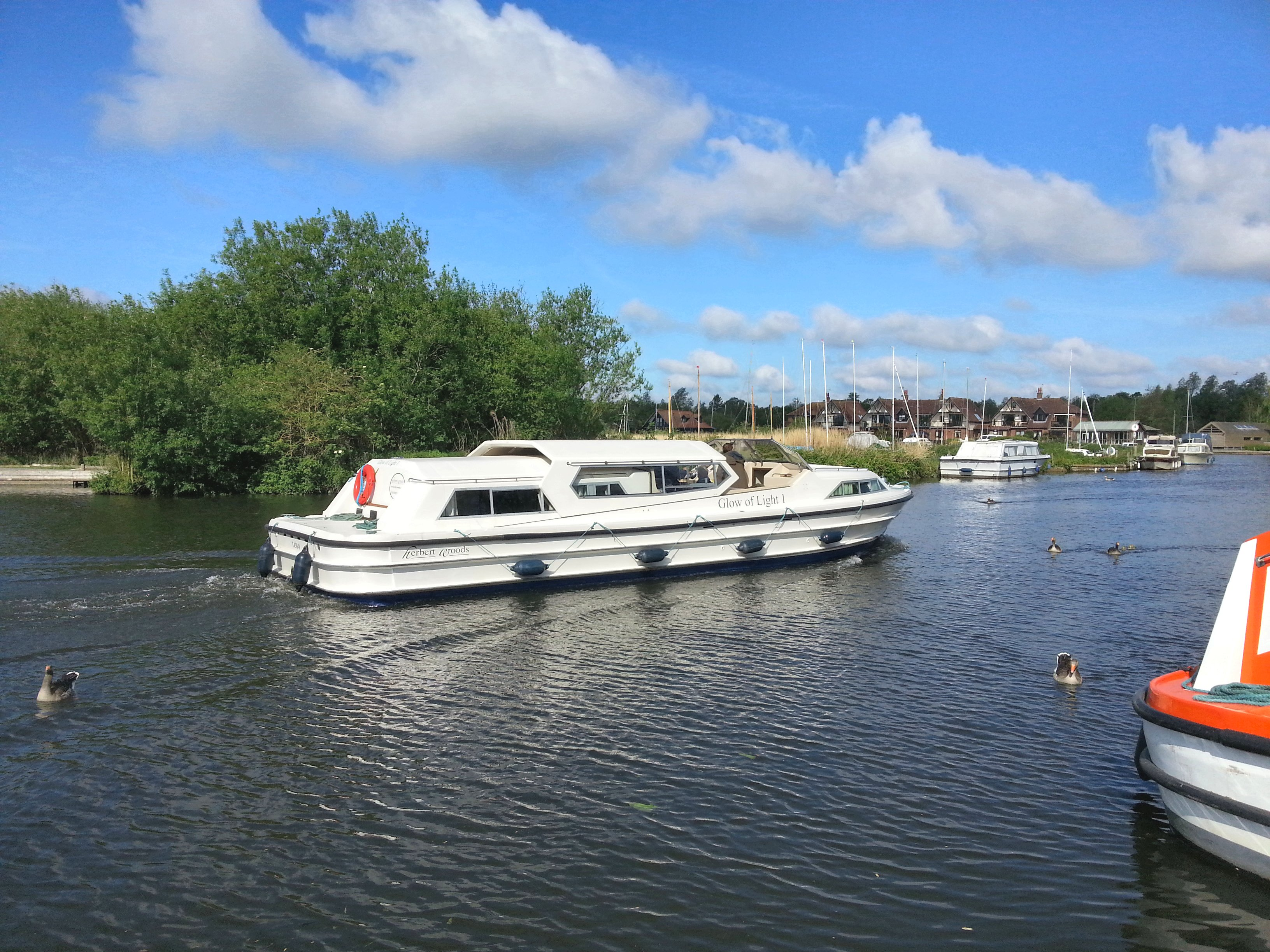 Norfolk Broads during the Easter Holidays