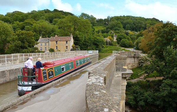 Avoncliff Aqueduct on the Kennet & Avon