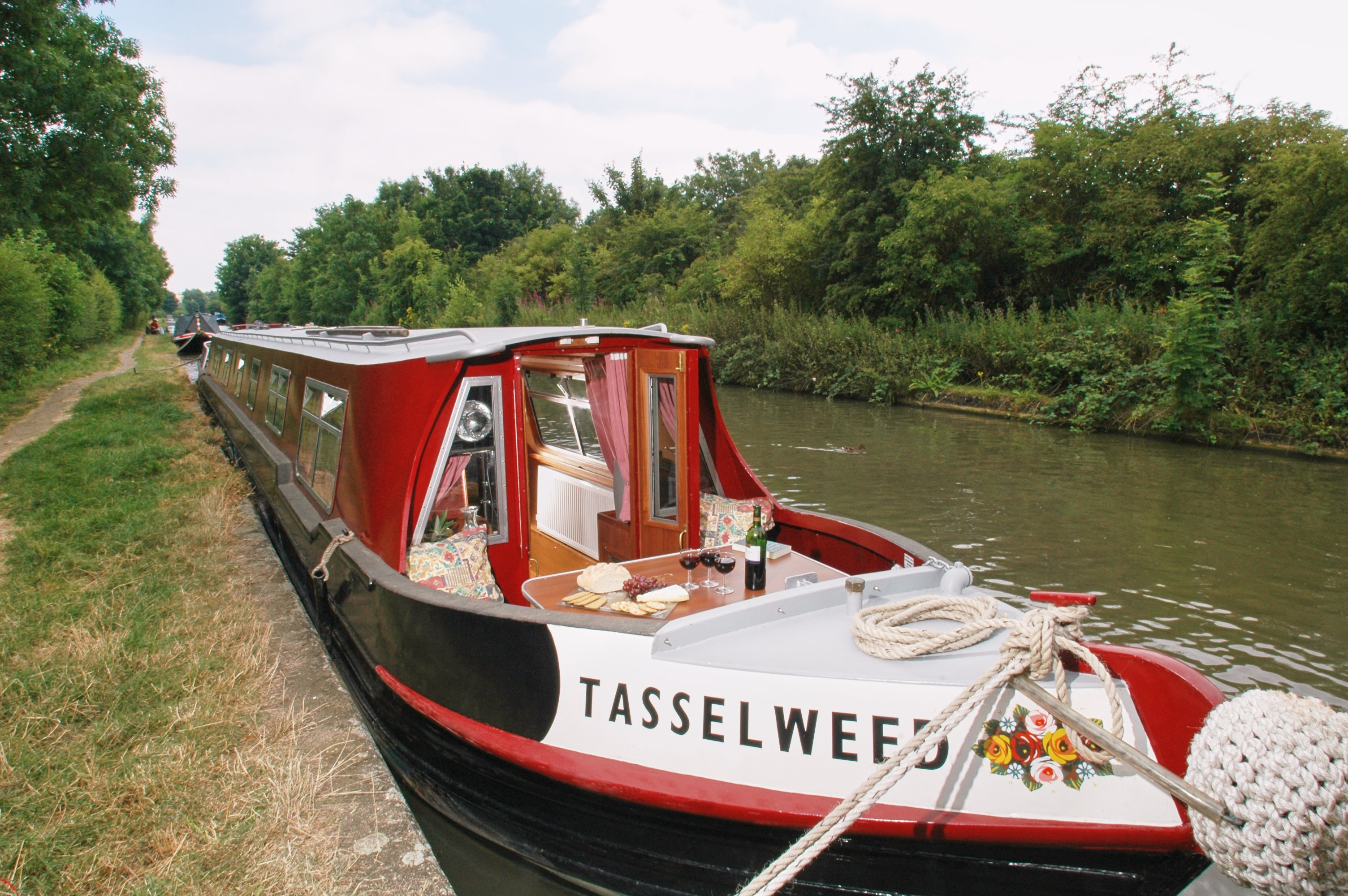 New boat Tasselweed from Weedon