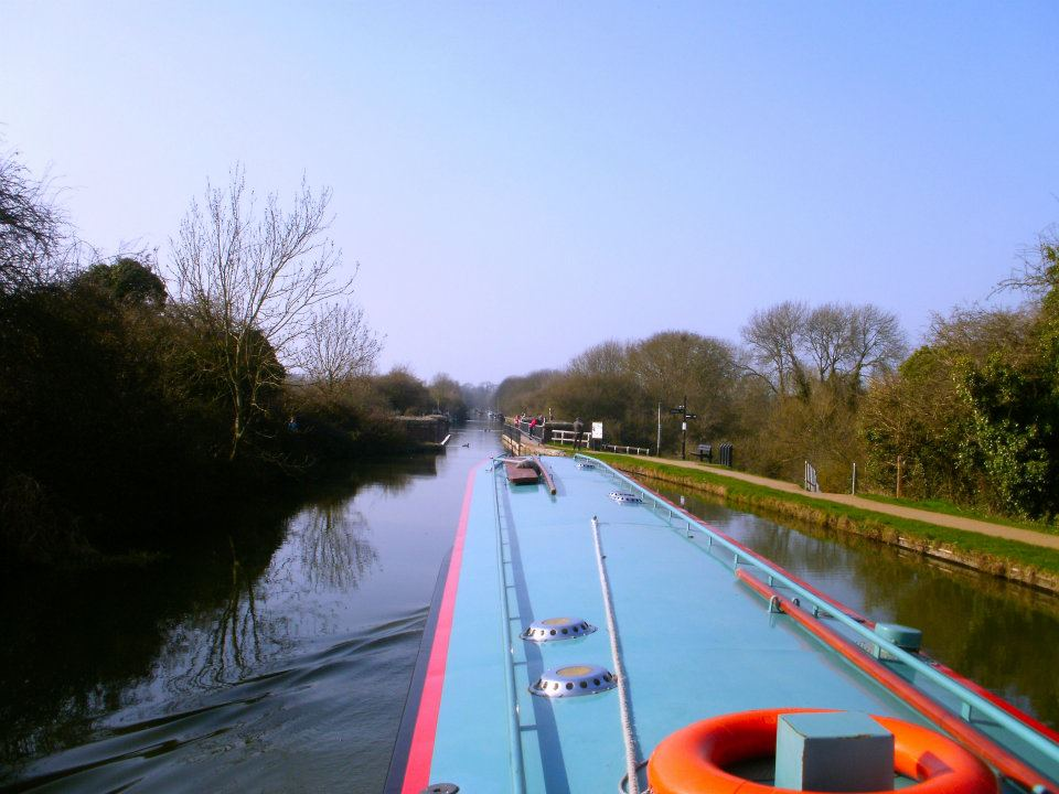Cruising on the Grand Union Canal