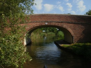 Picturesque Bridge on the Canals