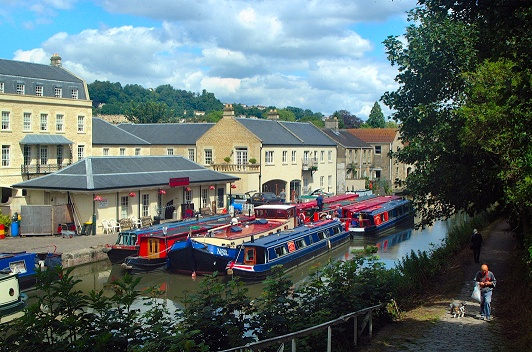 Canal boat holidays to Bath