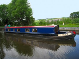 Hire Boat 'Grace' on the Pennine Canals