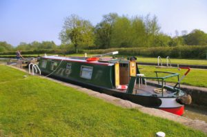 A Cruiser Stern Narrowboat