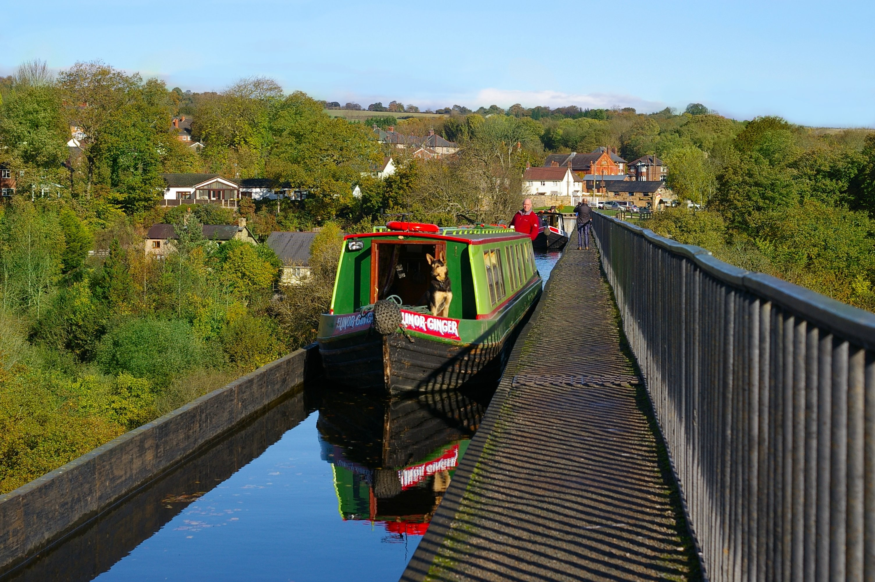The Llangollen Canal, North Wales