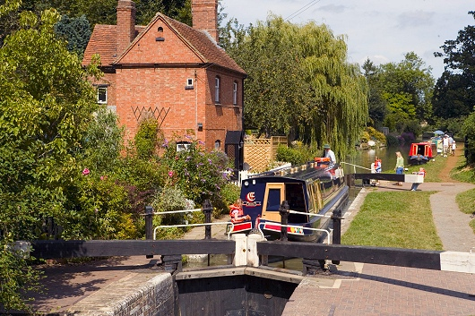 Cropredy Lock, South Oxford Canal