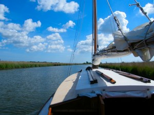 Norfolk Broad Sailing Yacht- Gem of the Broads