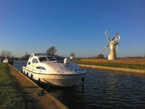 Autumn Morning on the Norfolk Broads