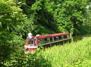 Boating honeymoon through the Yorkshire Dales