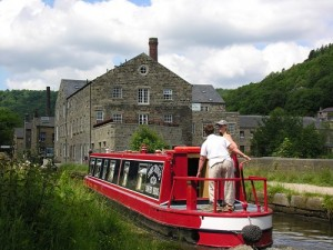 Sowerby Bridge hire boat