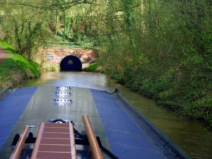 Exploring the Tardebigge Tunnel