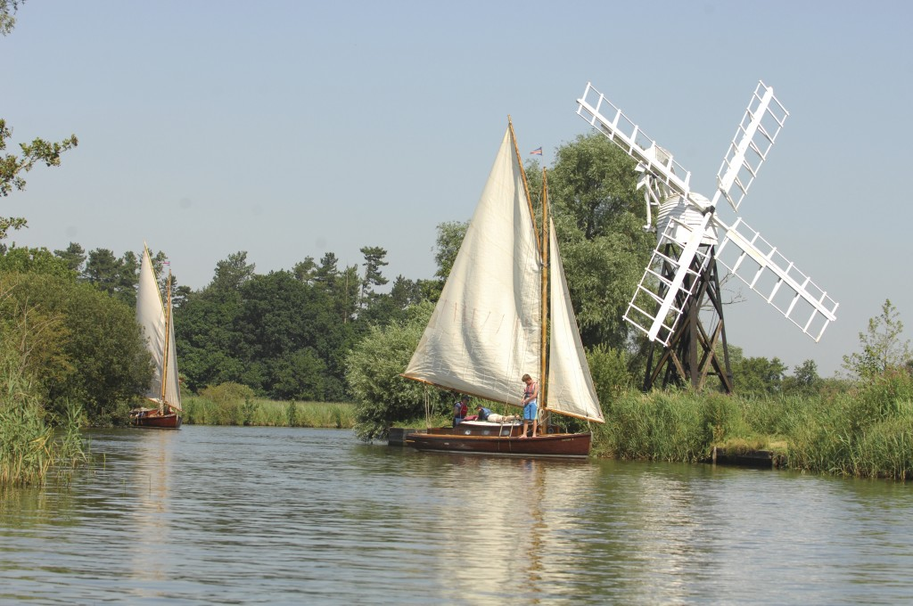 Tradtional Sailing Holidays on the Norfolk Broads