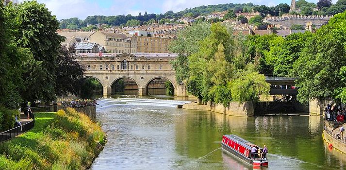 City Breaks canal boat hire in Bath