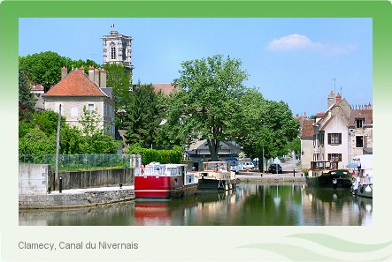 Boating Holidays in France on the Canal du Nivernais