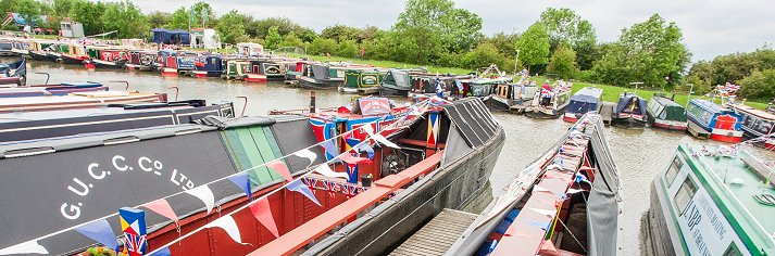 Enjoy half price moorings at the Crick Boat Show