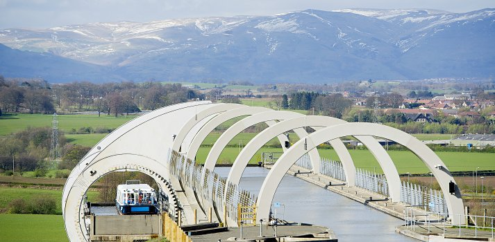 Union Canal Falkirk Wheel