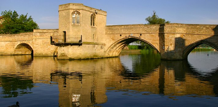 Fenland Waterways historical bridge
