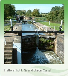 The Hatton Flight, Grand Union Canal