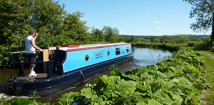 Lancaster Canal Boat