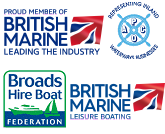 Waterways Holidays are members of the British Marine Federation, Broads Hire Boat Federation, Association of Pleasure Craft Operators