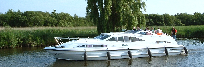 Motor Cruisers on the Norfolk Broads