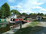 Go on a boating holiday on a Welsh Canal