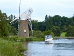 Windmill view on the Norfolk Broads