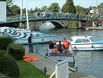 Wroxham Bridge on the Norfolk Broads