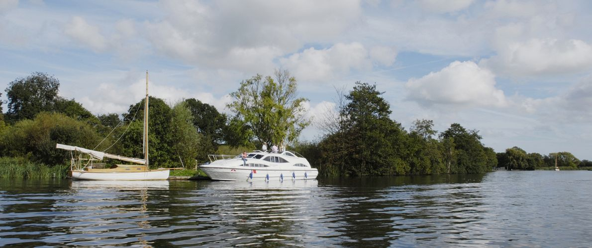 Norfolk Broads Boat Hire River Bure