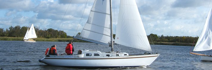 Norfolk Broads Sailing Yachts for Hire