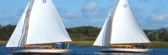 Traditional Norfolk Broads Yachts