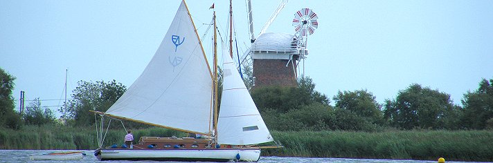 Norfolk Broads Sailing Boat Hire