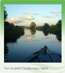 Scottish canal boat holiday - Forth & Clyde Canal