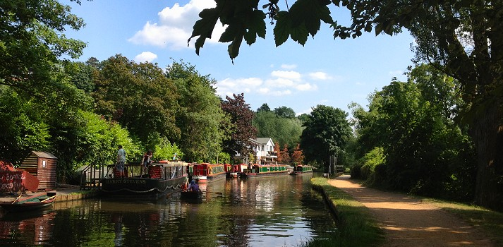 River Wey canal holidays